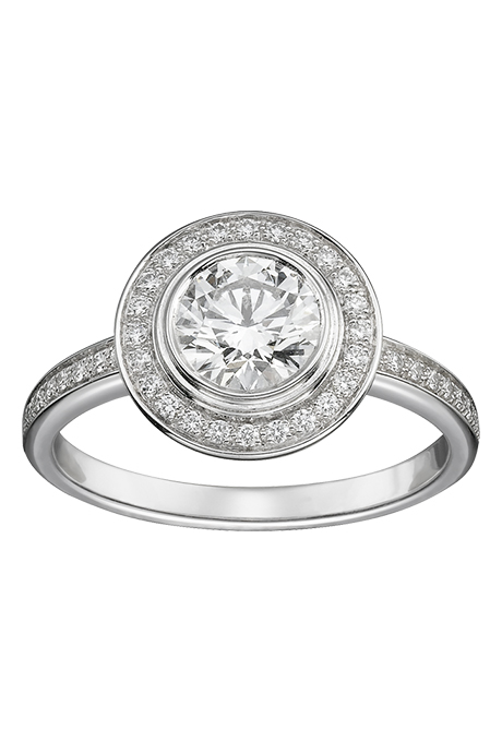 vintage-style-engagement-rings-cartier-damour