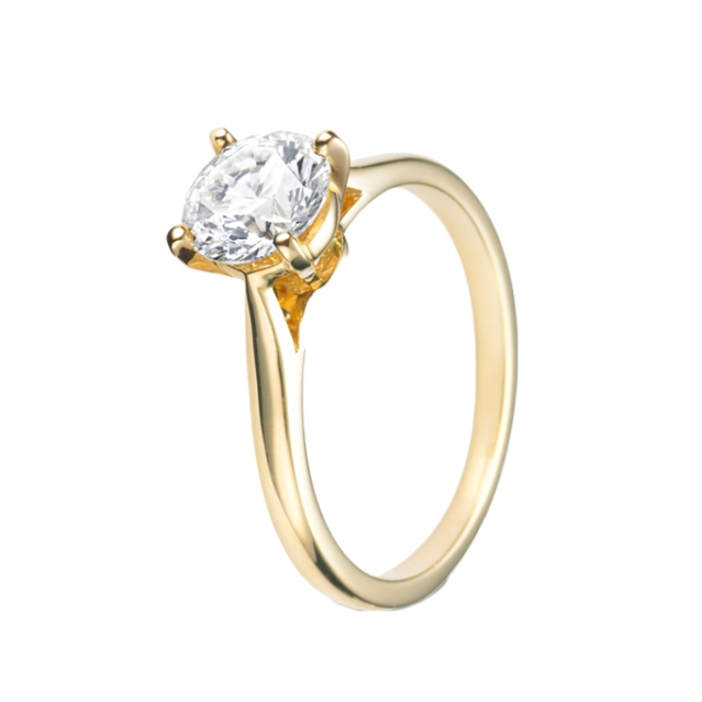 Yellow-Gold-Engagement-Rings-Cartier-N4235100