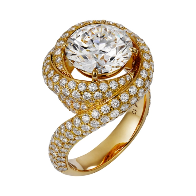 Yellow-Gold-Engagement-Rings-Cartier-N4251000